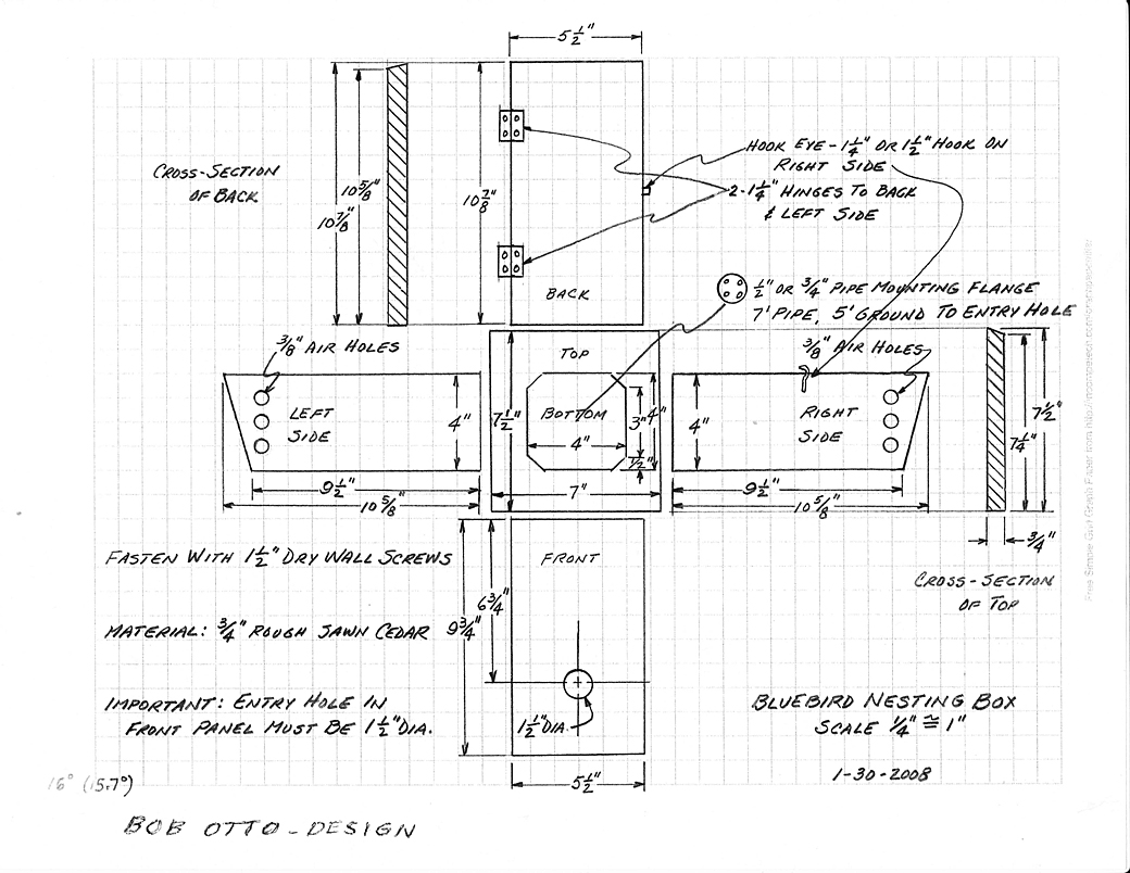 Harry Krueger Snake Trap Plans moreover Pdf Woodwork Blue Bird House Plans Download Diy Plans also For Building Bird Houses Suitable For The Different Kinds Of Birds moreover Birdhouseplans101 furthermore View. on peterson bluebird bird house plans