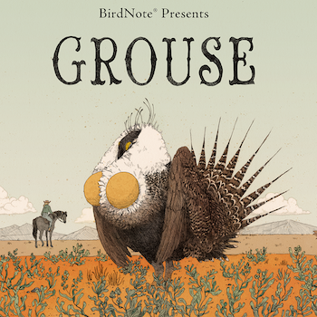 Grouse artwork for media kit