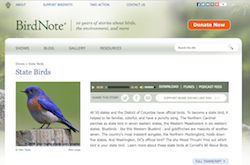 birdnote state birds