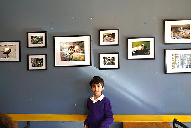 Deniz photo exhibit Cafe Rococo Redmond