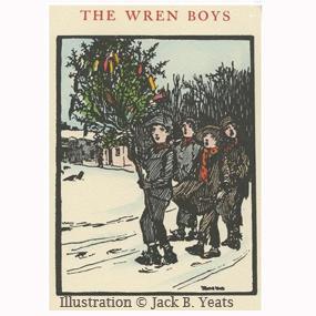 The Wren Boys Illustratration by Jack B Yeats