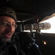 Sharp-tailed Grouse lek 1280x720: Shooting with Sparky